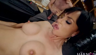 British sweetheart Franki is rueful about her date tonight, asking her two managers to assist calm her down they stuff their hard rods into all her holes in this hardcore double penetration scene. This eager worker ticks all the boxes