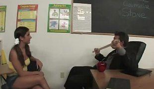 Tiffany summers banged by teacher