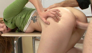 Beaue Marie is distracted in class and needs sex