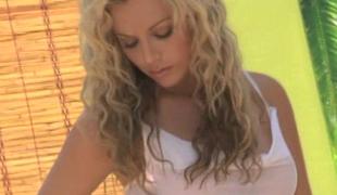 ass blonde kropp nærhet kjole langt hår onani fitte kjønn sexy