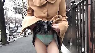 asiatisk asiatisk tenåring hd japansk utendørs truser offentlig strippe tease tenåring