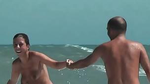 ass strand brunette hd skjult kamera offentlig voyeur