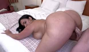 Desitny is a smokin' sexy curvy raven haired sexy with breathtakingly sexy massive bubble butt. She shows off will not hear of mind blowing bottom while giving face hole job and possessions will not hear of vagina pounded doggy style