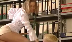 German very hot office sex. Gorgeous playgirl