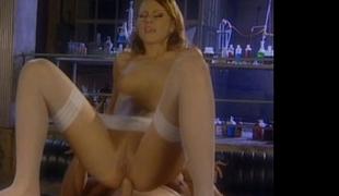 Beautiful slut Gilda Roberts having butt fucking sex in lab