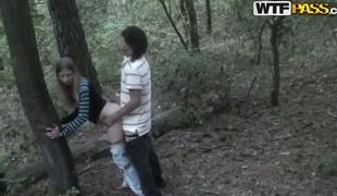 amatør kjæreste skog venn slem tenåring