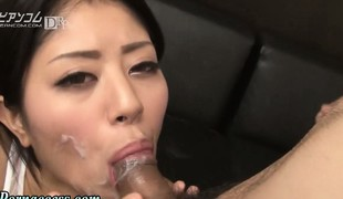 asiatisk stor kuk blowjob brunette kuk sæd sædsprut facial hd japansk